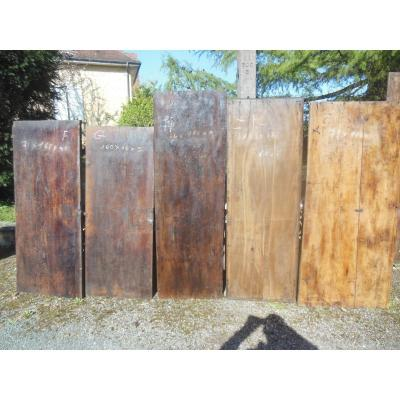 Suite Of 10 Planks Very Old Trays In Chataigner