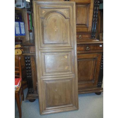 Door In Oak XVIII Eme Louis XIV