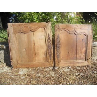 Pair Of Pretty Little Doors