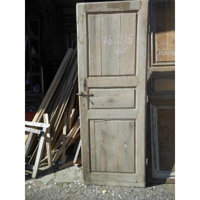 Double Sided Oak Communication Door