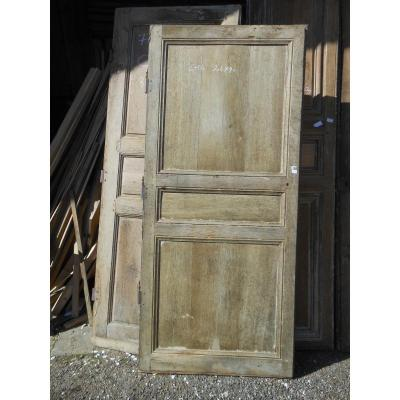 Single Directoire Oak Door