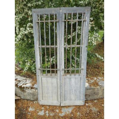 Portes Vitrées Avec Grille, Fenetre En Chêne , placard cuisine dans leur jus, cave a vin