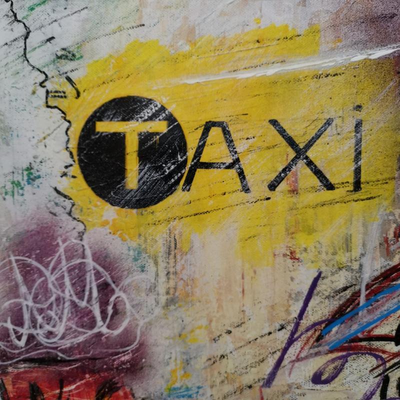 Adrien Montagne (1955), Taxi (80 X 40 Cm)-photo-2