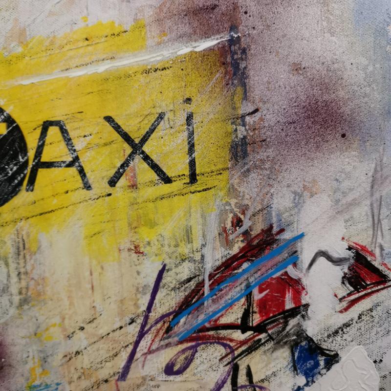 Adrien Montagne (1955), Taxi (80 X 40 Cm)-photo-3