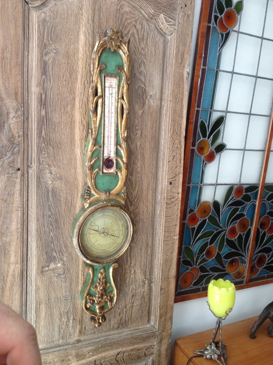 Baromètre Thermomètre XVIII Eme