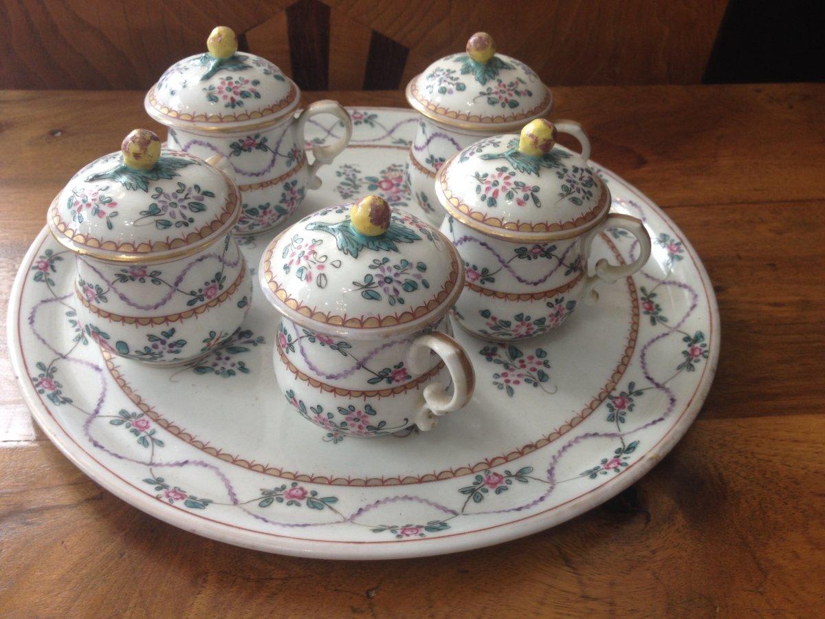 Cream Pots Middle 19th