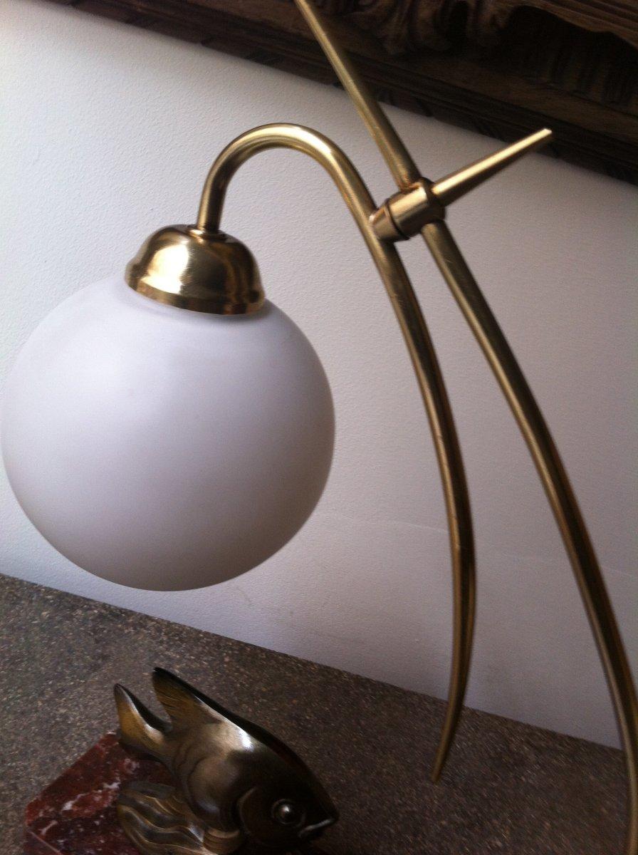 Lampe Au Poisson d'époque Art Déco-photo-1