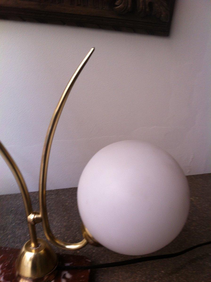 Lampe Au Poisson d'époque Art Déco-photo-2