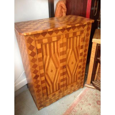 Massive Marquetry Buffet