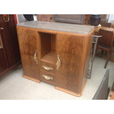 Art Deco Walnut Buffet