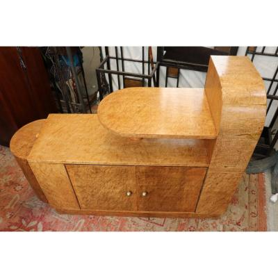 Art Deco Period Speckled Maple Bar