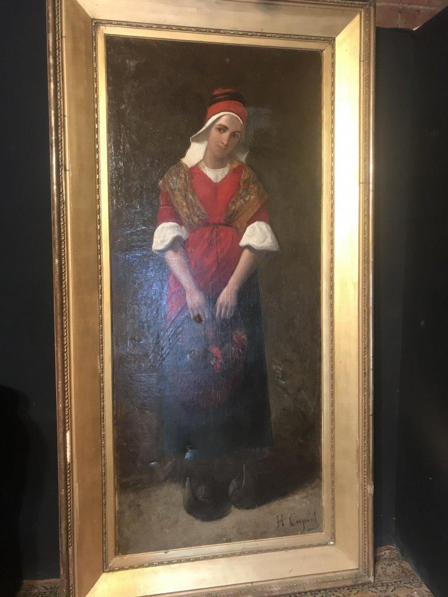 Grande Peinture De Charles Capoul (ht :2,38)