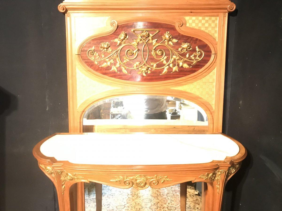 Console Et Trumeau Art Nouveau