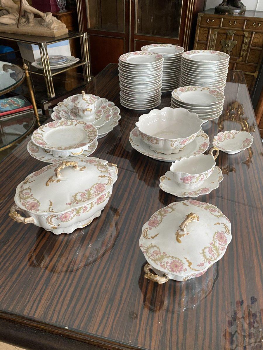 Service En Porcelaine De Limoges 75 Pièces