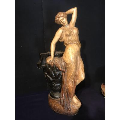 Importante Statue Goldsheider 94cm