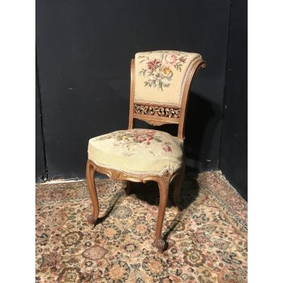 Petite Chaise Style Louis XV