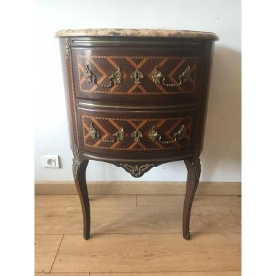 Commode Demi Lune Style Transition