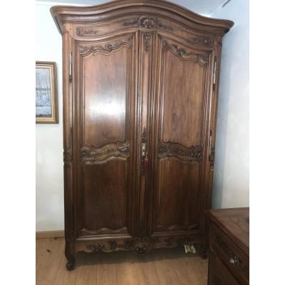 Bordeaux Walnut Cabinet