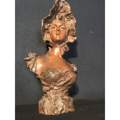 Regulated Bust Bronze Patina