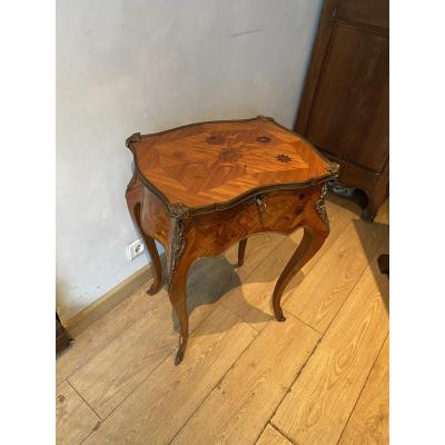 Table à Ouvrage De Style Louis XV