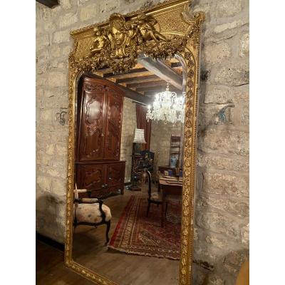 Important Castle Mirror (height: 253)
