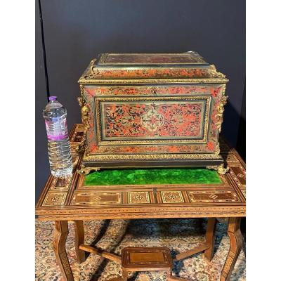 Important Boulle Marquetry Box (60/45/46)