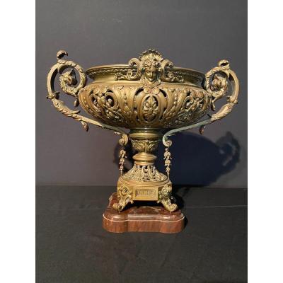 Renaissance Gilt Bronze Cup