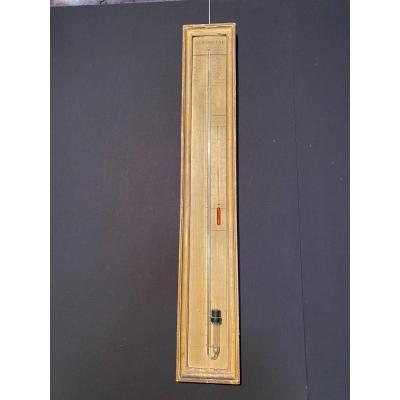 XVIIIth Thermometer Barometer
