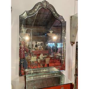 Venice Glass Mirror