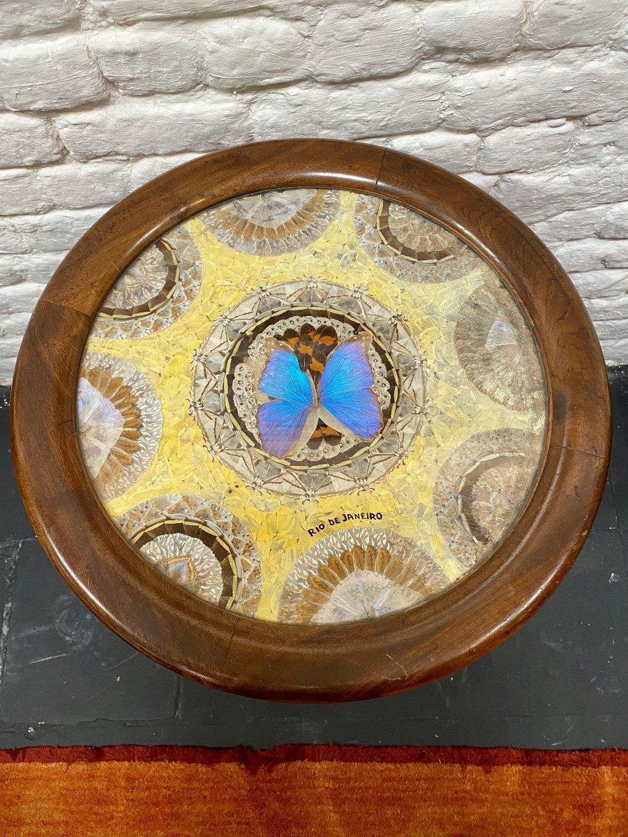 Table Art Deco Brésilien Signée Formanek-photo-2
