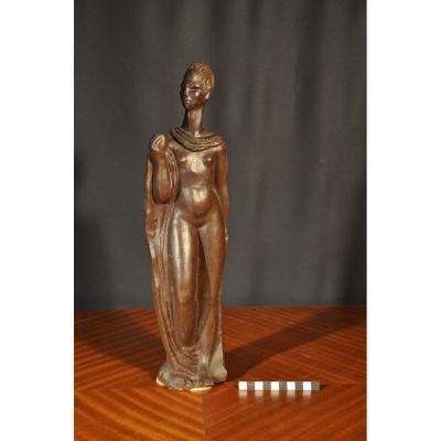 Africanist Statuette - Josef Arnost Gause