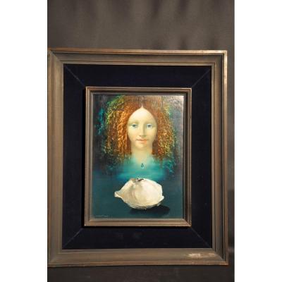 Michaël Doré, La boite à bijoux, huile sur toile