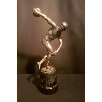 Trophy, Tin Discus Thrower, 1936