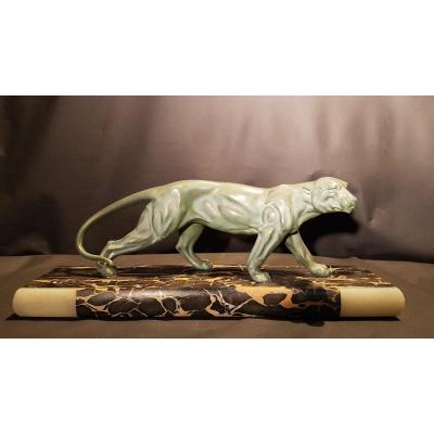 Panthère, Bronze Artistique, Art Déco