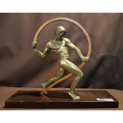 Regulates Man, Bronze - M. Kowas