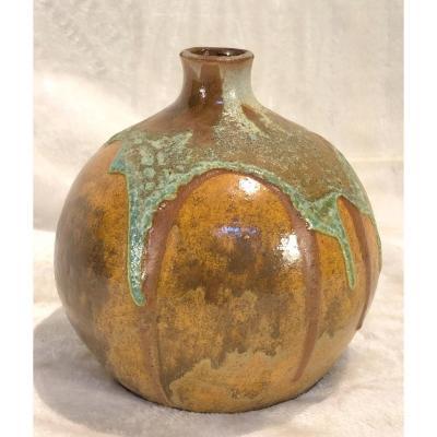 Céramique Arthur  Craco - Signé Avec Cachet - Diamètre 13cm - Hauteur 13cm