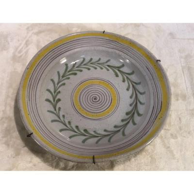 Assiette Flamande - 19e - 5x30cm