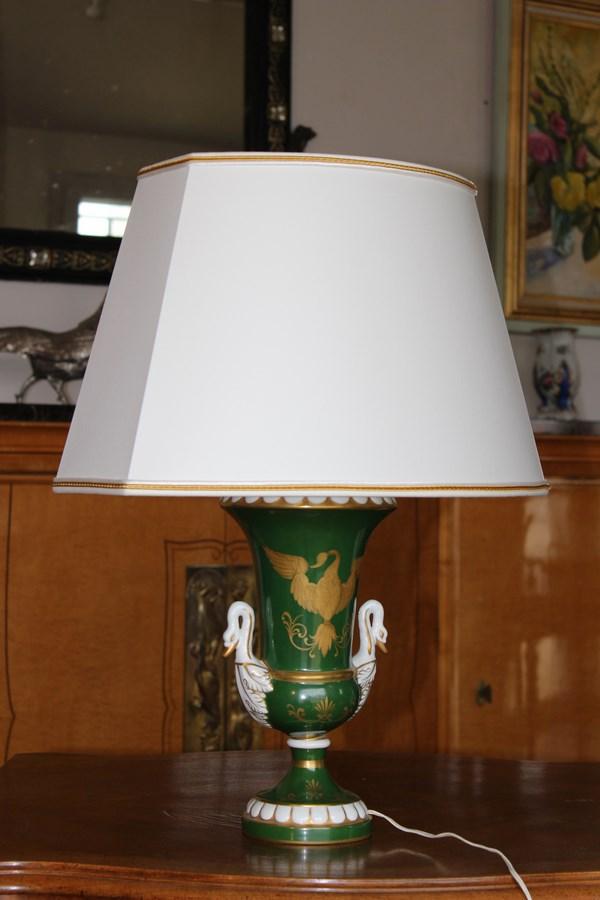 Lampe En Porcelaine De Paris
