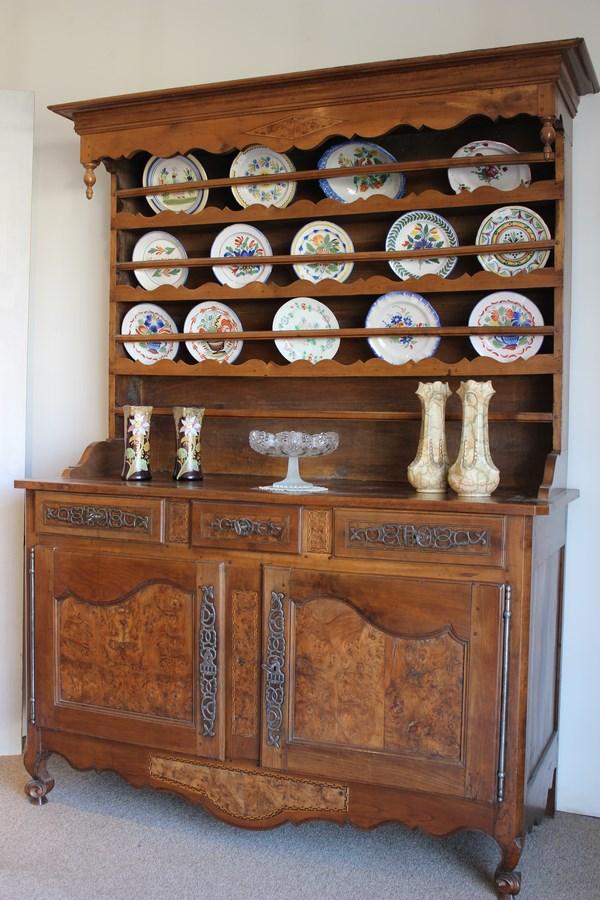 Buffet Vaisselier De Style Louis XV