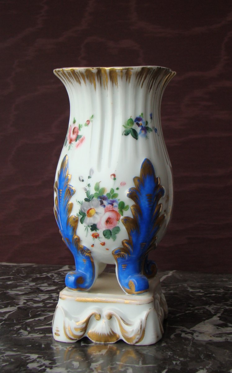 Porcelain Vase From Paris