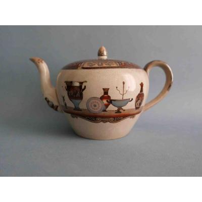 British Teapot, 1862-1869 In Staffordshire With