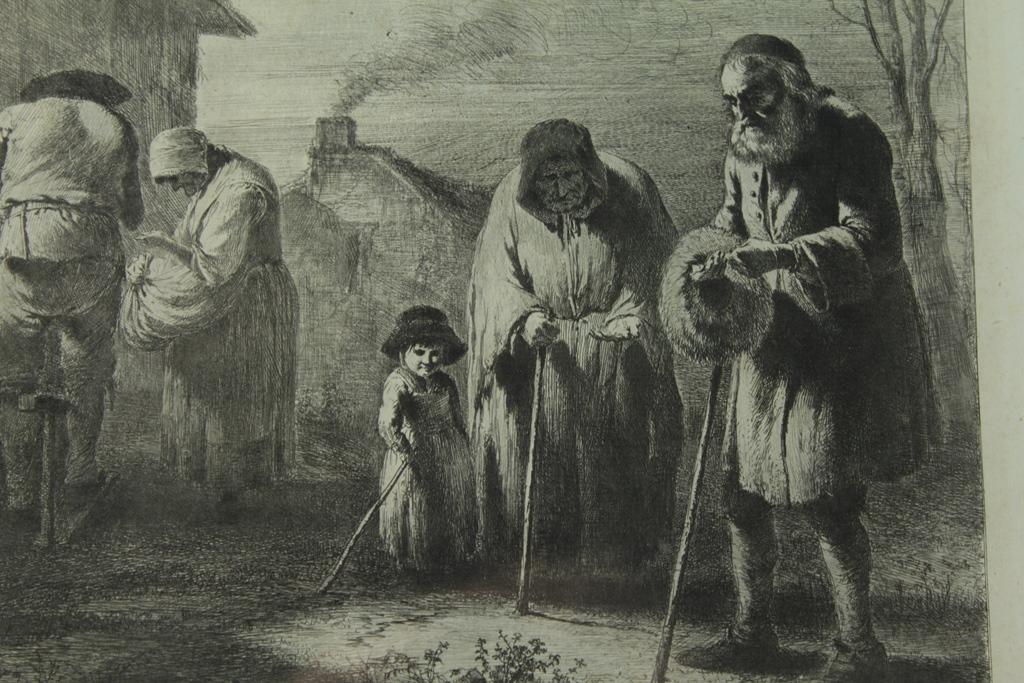 Gravure fin 18ème siècle Jean-Jacques De Boissieu 1736-1810-photo-3