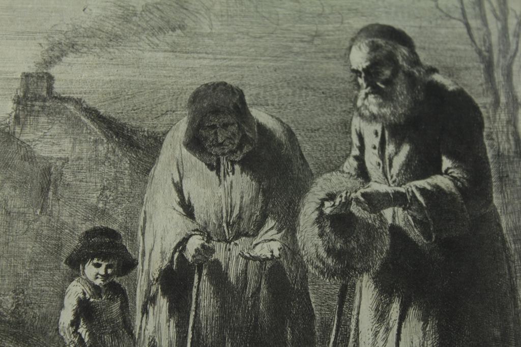 Gravure fin 18ème siècle Jean-Jacques De Boissieu 1736-1810-photo-1