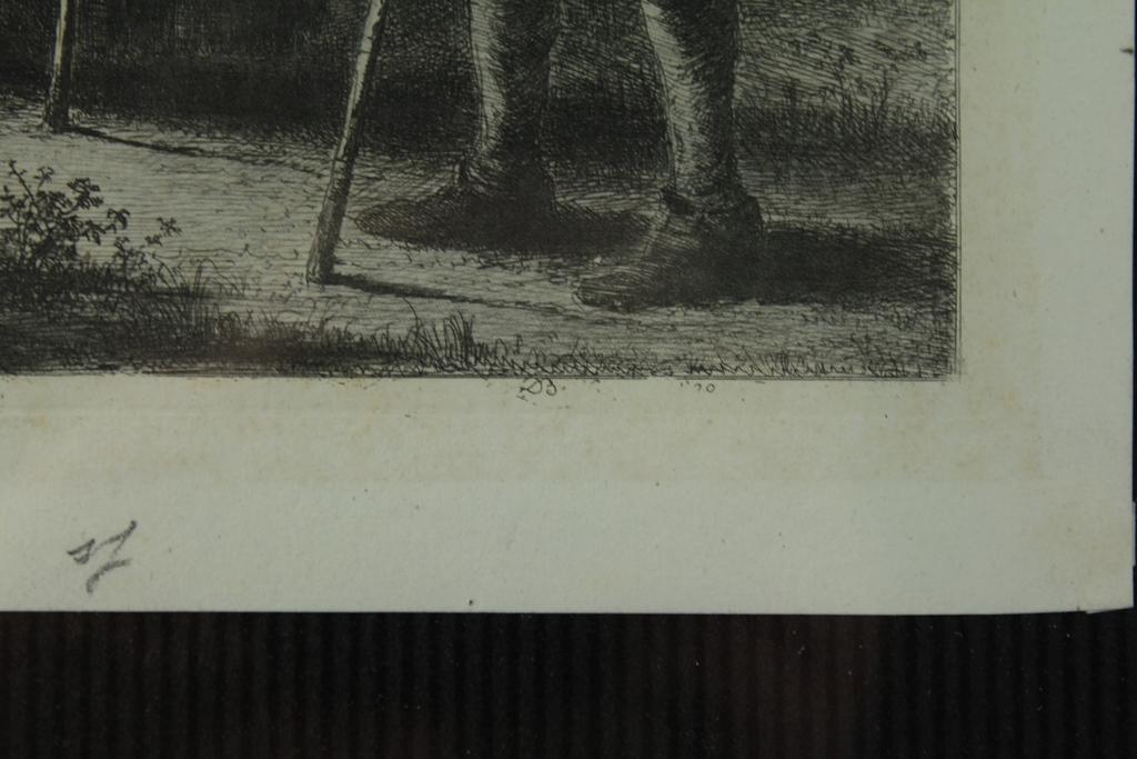 Gravure fin 18ème siècle Jean-Jacques De Boissieu 1736-1810-photo-6