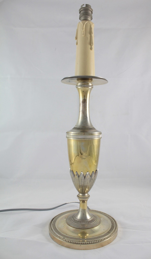 Foot Lamp In The Style Of Charles House