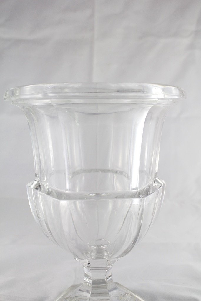 20th Century Glass Medicis Vase-photo-1