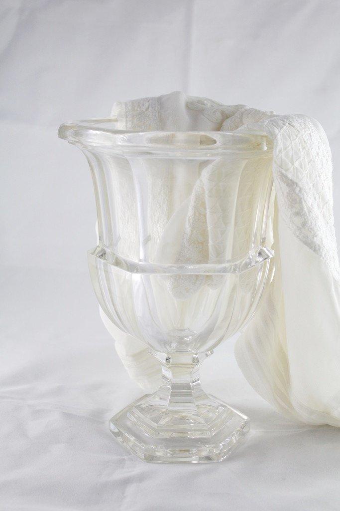 20th Century Glass Medicis Vase
