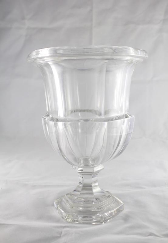 20th Century Glass Medicis Vase-photo-2