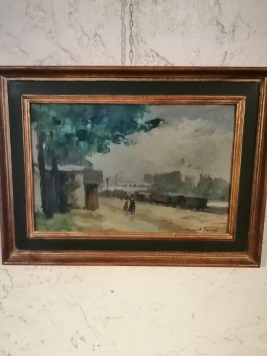 Peinture Impressionniste De Paris.