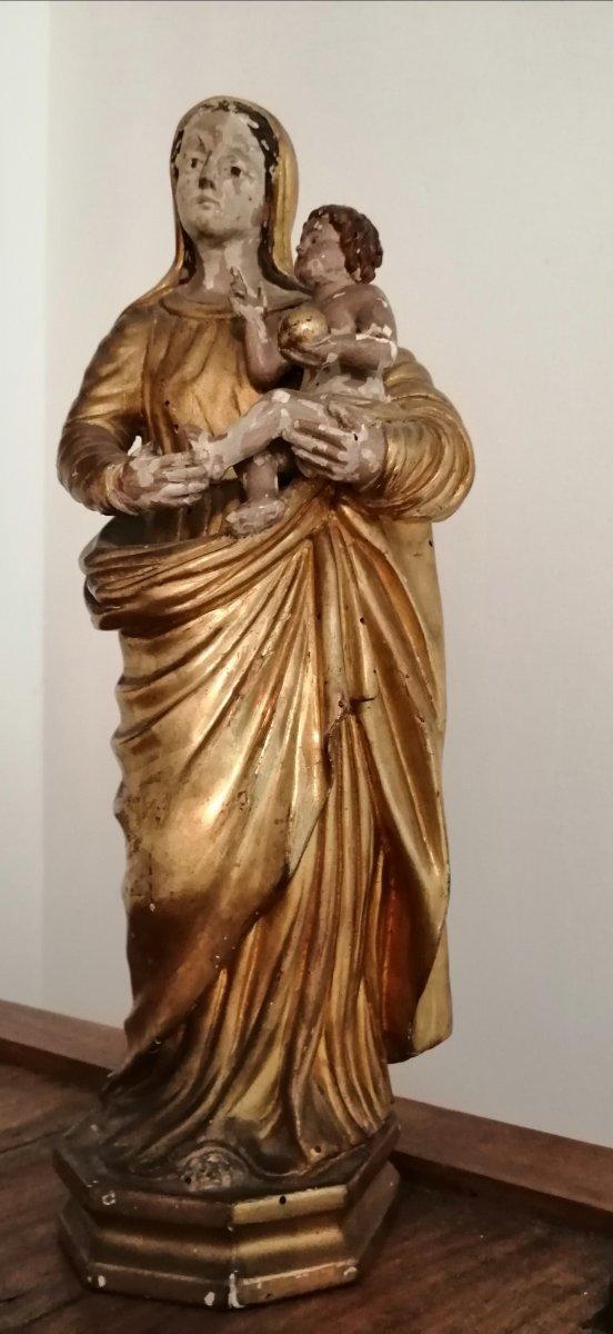 Vierge à l'Enfant époque 18ème